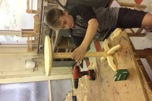 2nd Years Woodwork October 2017