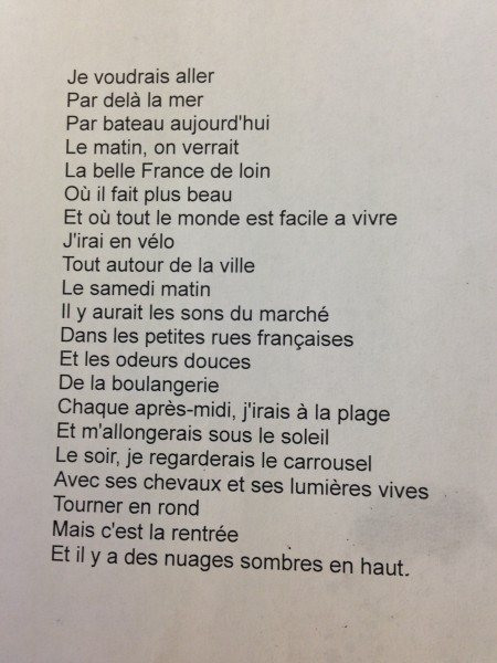 french poem 2
